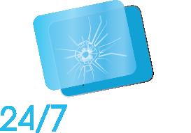 logo 24-7 Vitrer Blanc