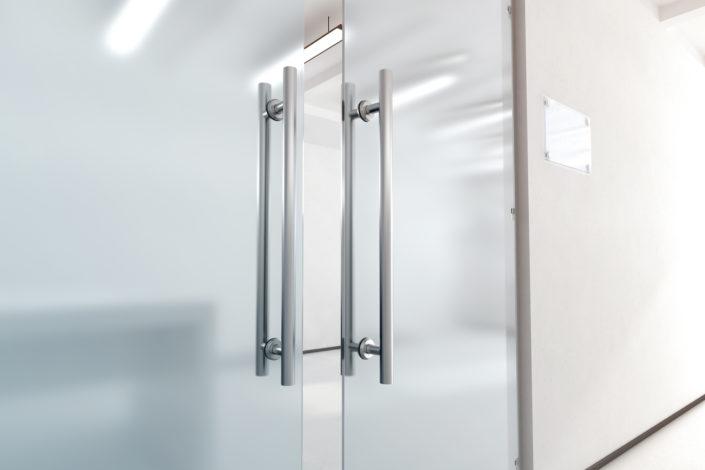 Porte en verre intérieur
